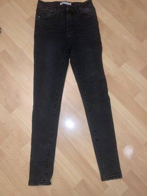 Skinny Jeans Röhrenjeans Röhre Hello Miss High Waist Hohe Taille Hoher Bund neu