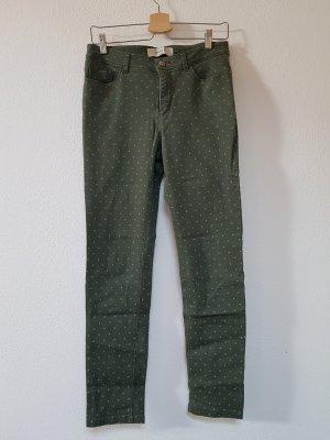 Anne L. 7/8-broek grijs-groen-khaki