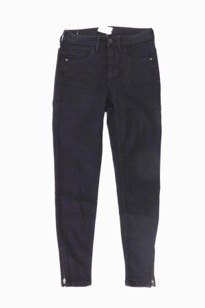 Skinny Jeans schwarz Größe S/L30