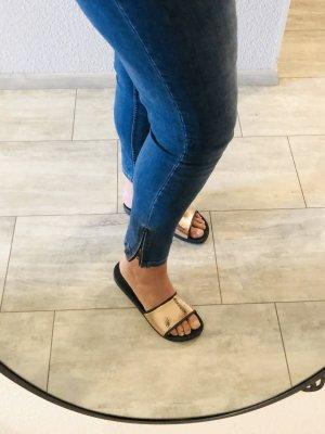 Skinny Jeans • seitlicher Reißverschluss Gr. 54