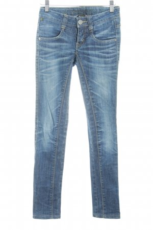 Skinny Jeans stahlblau-blau Casual-Look