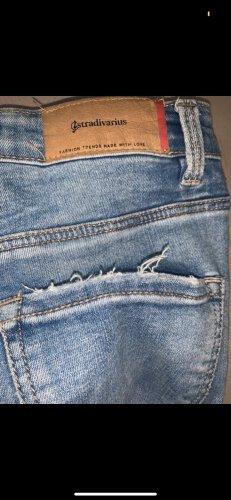 Stradivarius Jeans skinny azzurro
