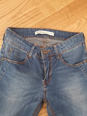 Stradivarius Jeans skinny bleu