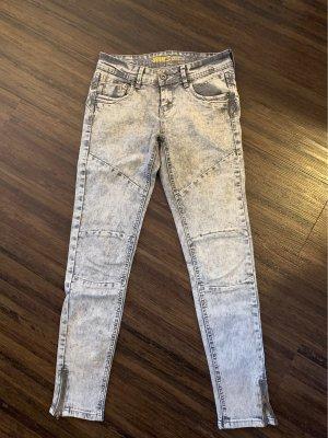 Skinny Jeans verwaschen Grau Primark Größe: 32