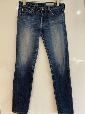 Adriano Goldschmied Jeans vita bassa blu scuro Cotone