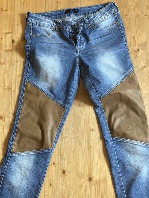 Ann Christine Skinny Jeans brown-blue