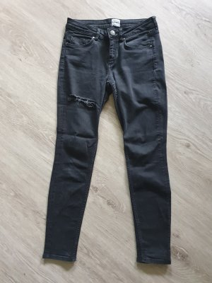 Asos Denim Skinny Jeans black-grey