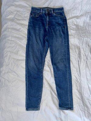 ASOS DESIGN Petite Jeans skinny bleu-bleu foncé