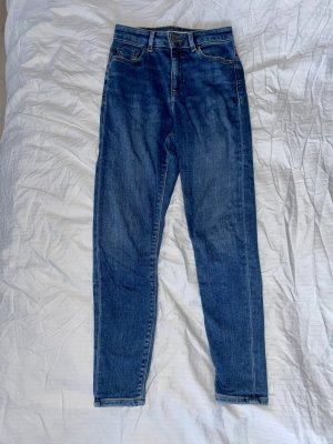 ASOS DESIGN Petite Skinny Jeans blue-dark blue
