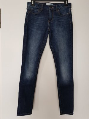 Banana Republic Jeans skinny bleu foncé coton