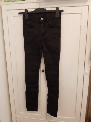 Calzedonia Skinny Jeans black cotton