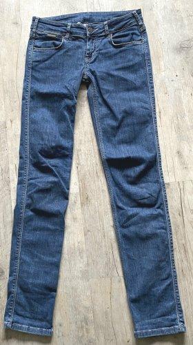 Calvin Klein Skinny jeans blauw Katoen