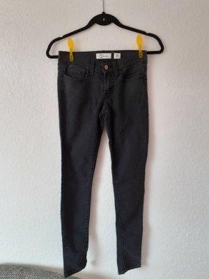 Skinny Jeans von Cubus Größe 32 schwarz