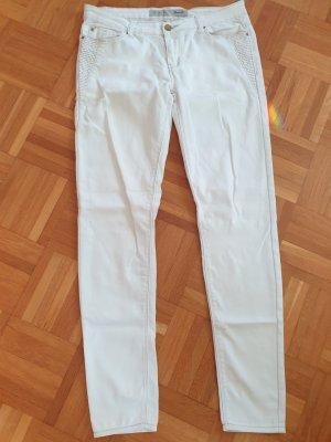 Denim Co. Jeans skinny blanc cassé