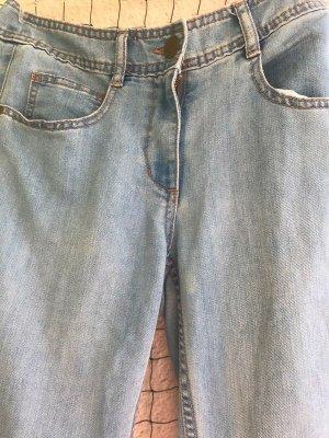 H&M Skinny Jeans azure-light blue cotton