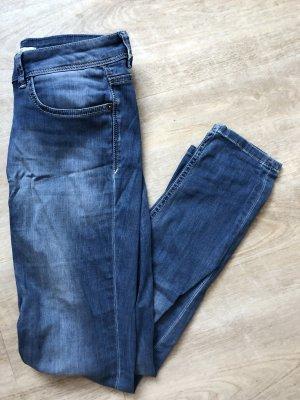 Skinny Jeans von HIS blau Waschung guter Zustand
