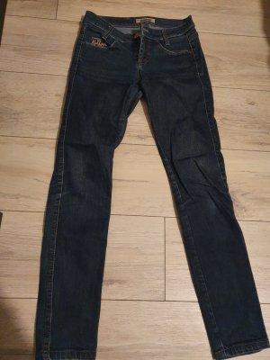 Killah Jeans skinny bleu foncé