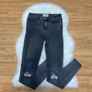New Look Jeans skinny gris-gris foncé