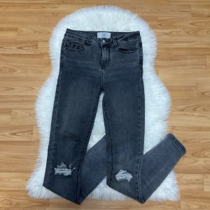 New Look Jeans skinny grigio-grigio scuro