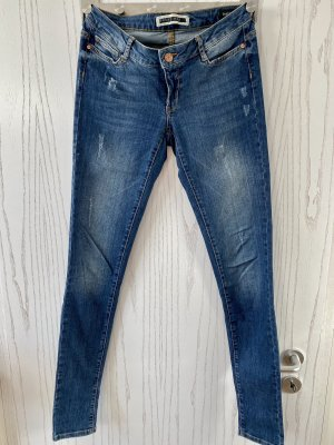 Noisy May Jeans skinny blu-blu scuro