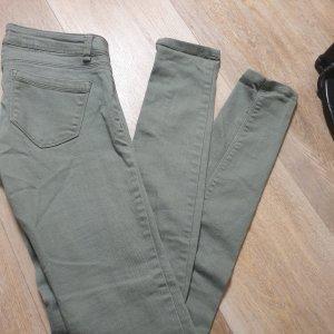 Tally Weijl Low Rise Jeans green grey
