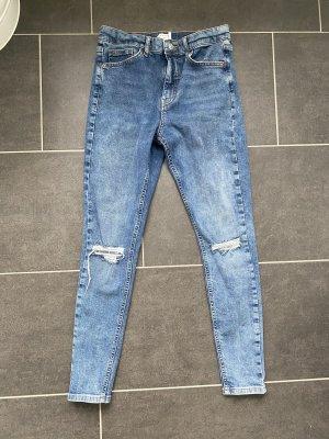 Skinny Jeans von Topshop mit Cuts
