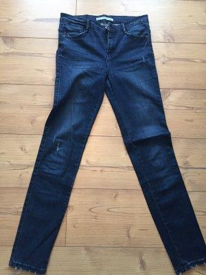 Zara Skinny Jeans dark blue