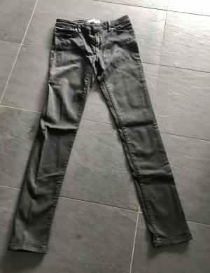 Skinny Jeans von Zara schwarz