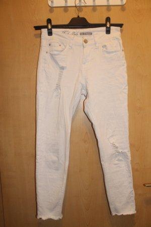 Skinny Jeans weiß XS