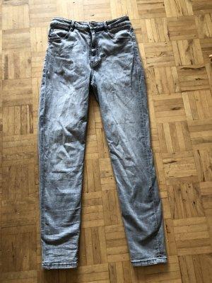 Skinny Jeans Zara Grau 40
