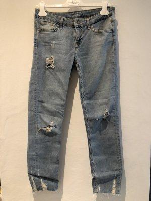 Skinny Jeans Zara Mid Waist