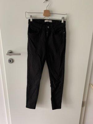 Skinny Jeans Zara schwarz 36