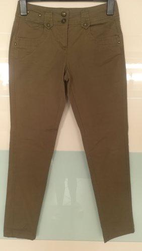 Skinny Khakihose Gr. 38