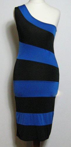 Skinny Kleid One Shoulder Größe S/M