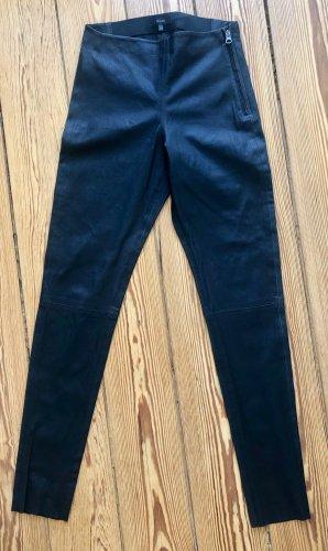 Skinny Lederhose in Lammnappa Stretch ( Echtleder )