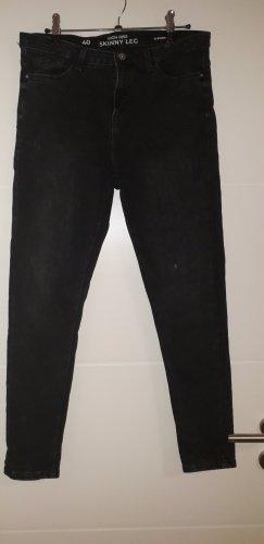 skinny leg jeans (Black)