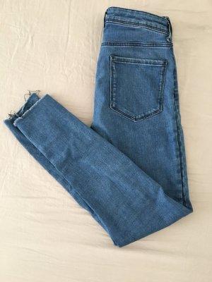 Skinny mid-waist Jeans Zara