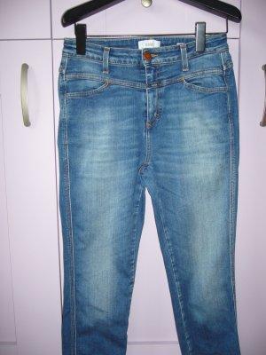 Closed Hoge taille jeans lichtblauw Katoen