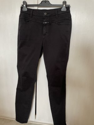 Closed Jeans a sigaretta nero-blu scuro