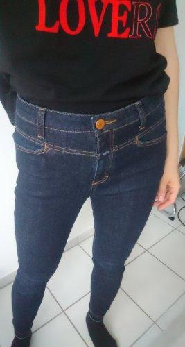 Closed Jeansy o obcisłym kroju ciemnoniebieski