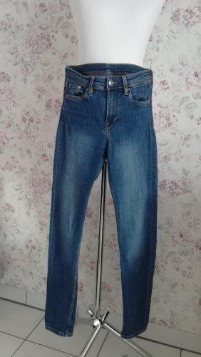 Skinny Regular Jeans 24/30 blau