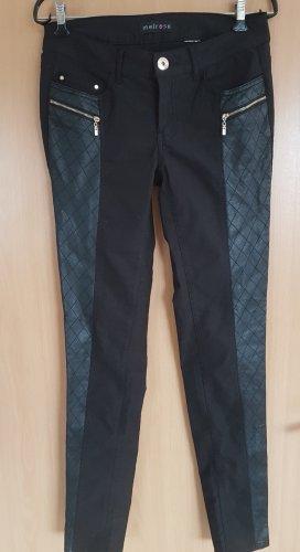 Melrose Jeans skinny nero Cotone