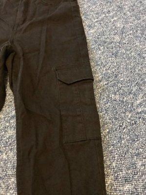 H&M Divided Jeans da motociclista nero