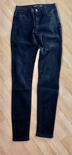 FB Sister Jeans a vita alta nero