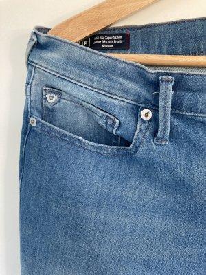 True Religion Jeansy o obcisłym kroju błękitny-stalowy niebieski