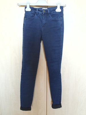 Be only Jeans stretch bleu foncé coton