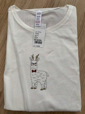 Skiny Pijama blanco-rojo
