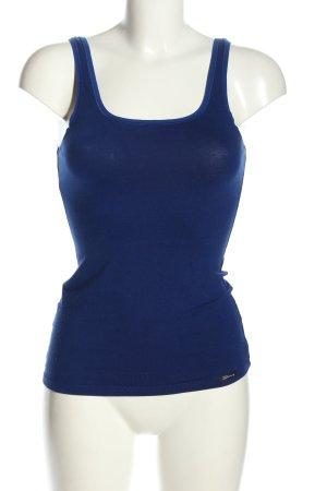 Skiny Tanktop blau Casual-Look