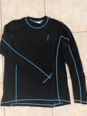 Skiunterhemd Thermounterhemd Nebulus - mit Wolle - schwarz - Gr. XL