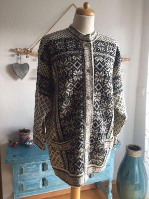 Skjaeveland Strickjacke Wolle Größe L
